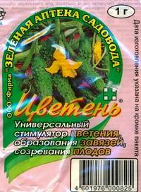 Стимулятор цветения «Цветень»: для обильного урожая