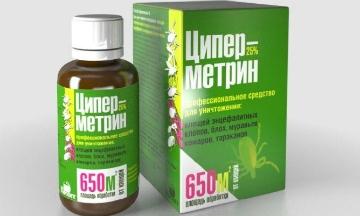 Токсичен ли инсектицид Циперметрин и как правильно его использовать