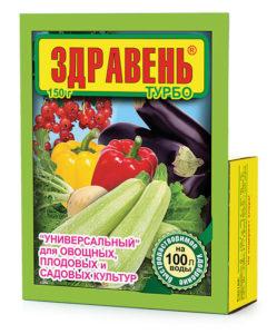 Здравень Турбо для томатов, перцев и других культур