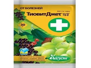Защищаем растения от вредителей: фунгицид Тиовит Джет