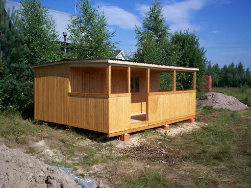 Садовый домик-бытовка