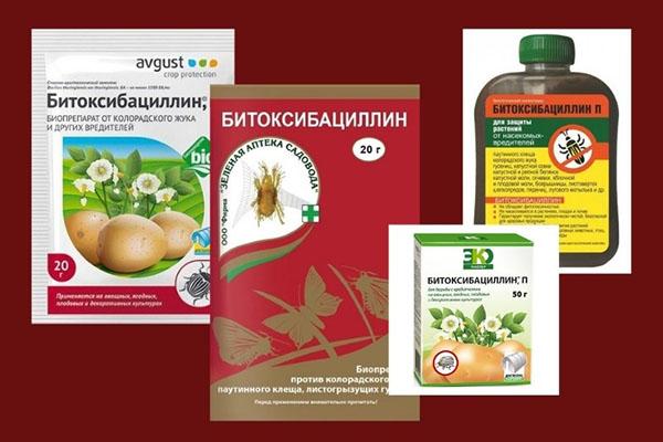 Битоксибациллин - описание средства и действующие вещества